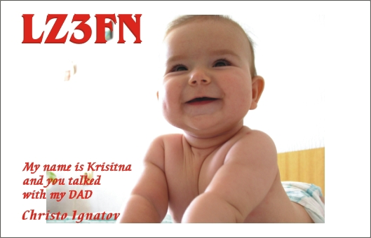 Funny QSL lz3fn