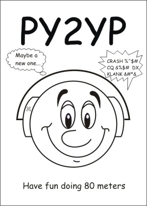 Funny QSL py2yp
